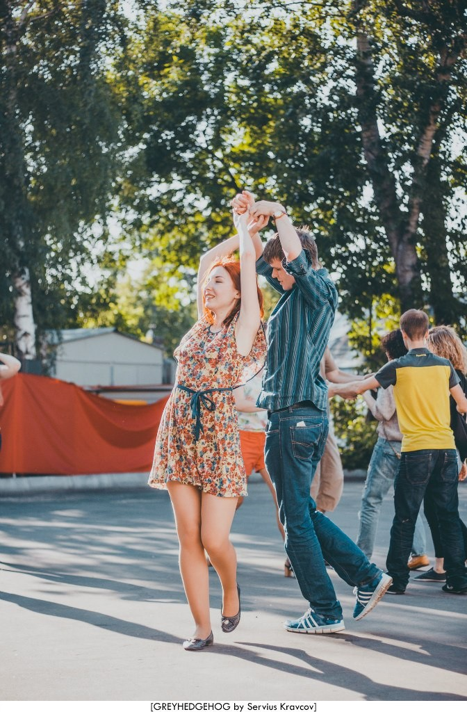 Танцы на свежем воздухе во Владимире 049