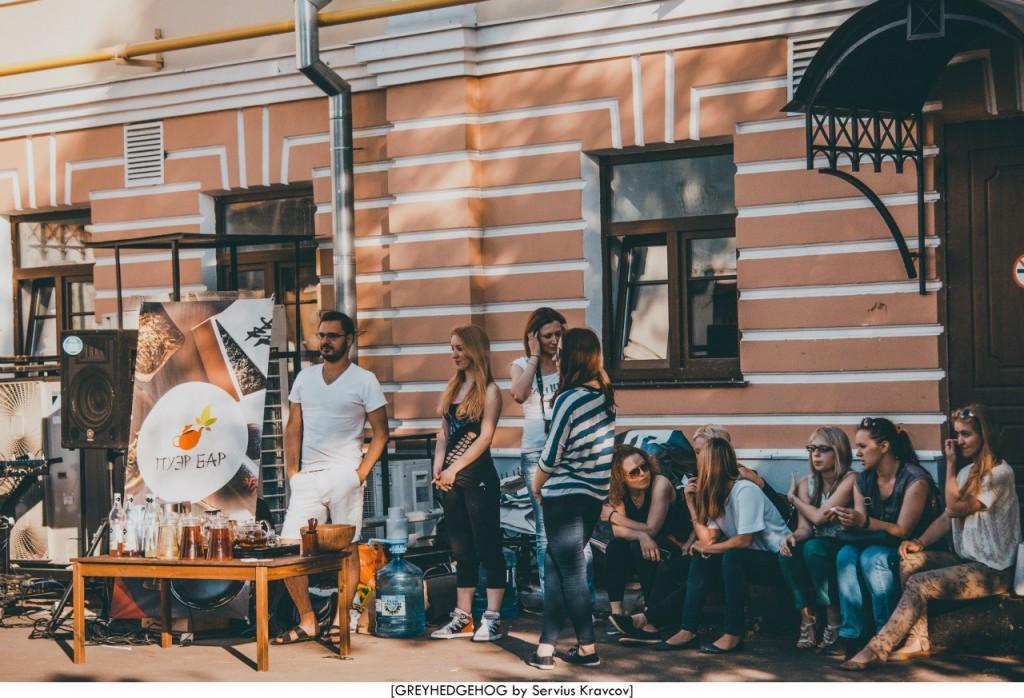 Танцы на свежем воздухе во Владимире 053