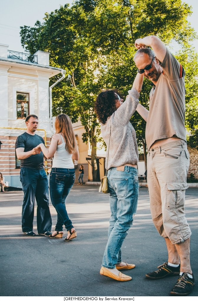Танцы на свежем воздухе во Владимире 055