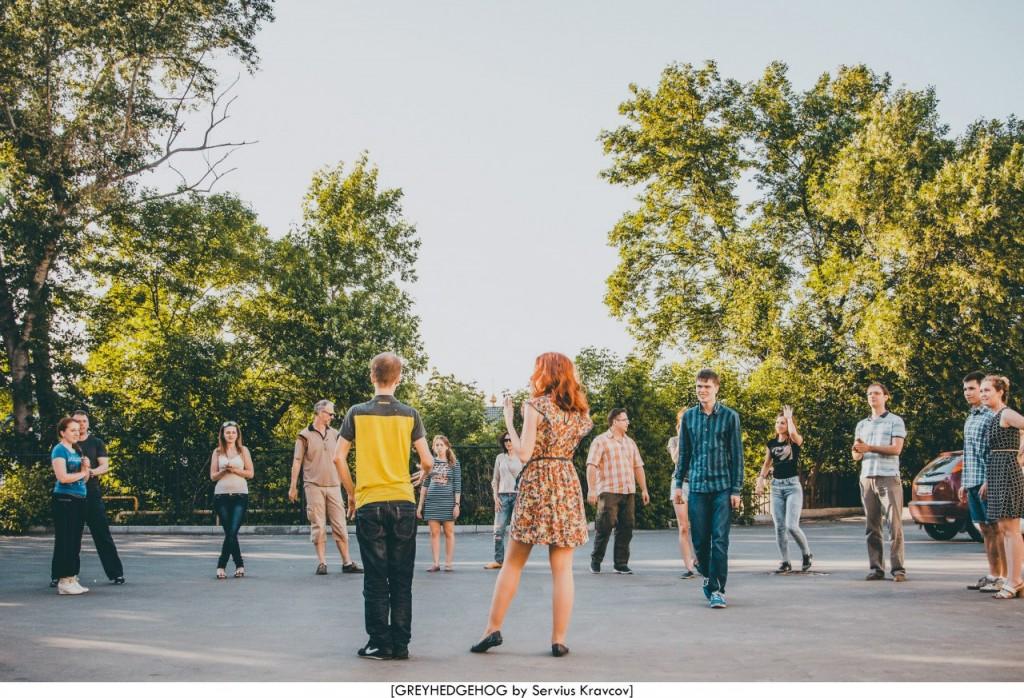 Танцы на свежем воздухе во Владимире 060