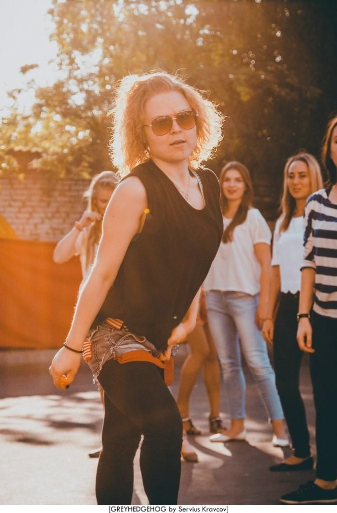 Танцы на свежем воздухе во Владимире 063