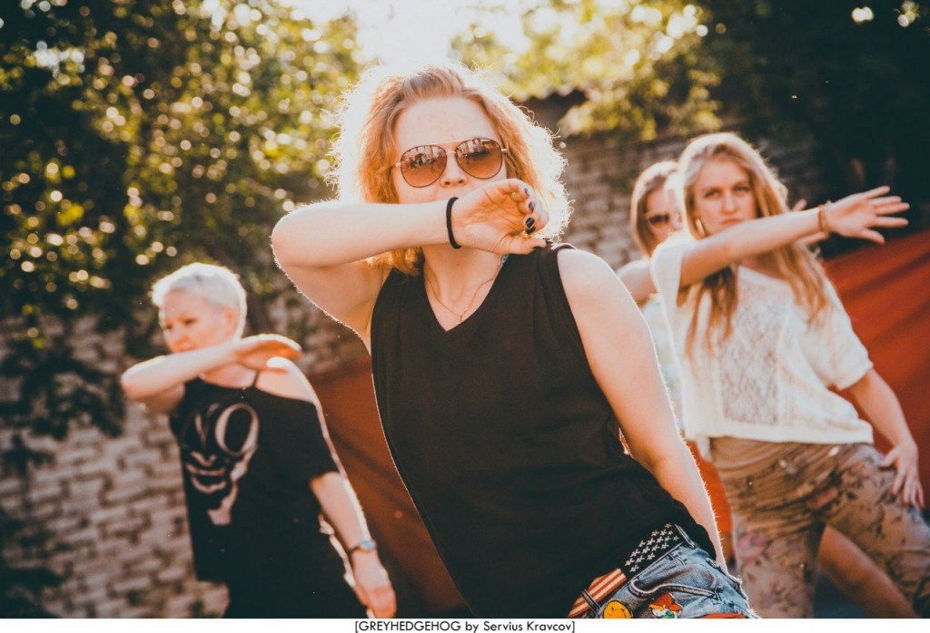 Танцы на свежем воздухе во Владимире 064