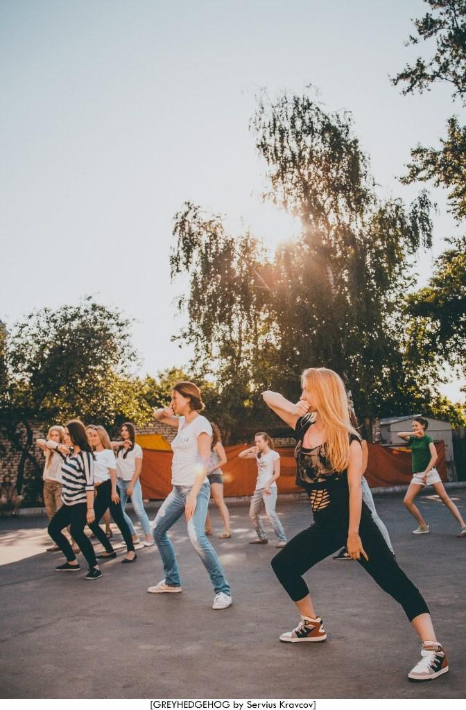 Танцы на свежем воздухе во Владимире 065
