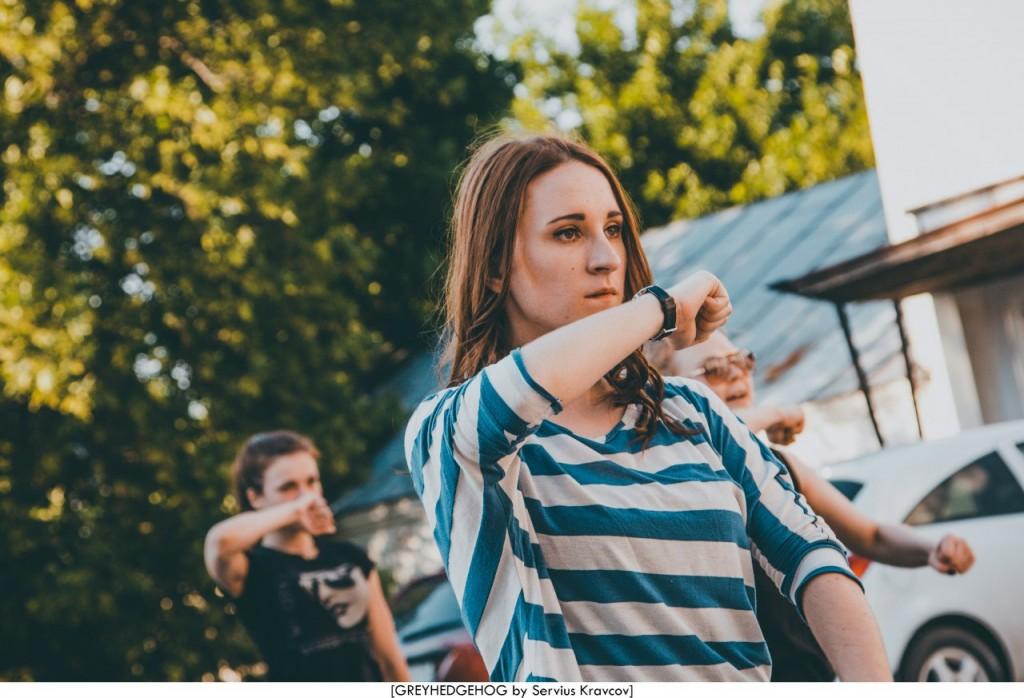 Танцы на свежем воздухе во Владимире 070