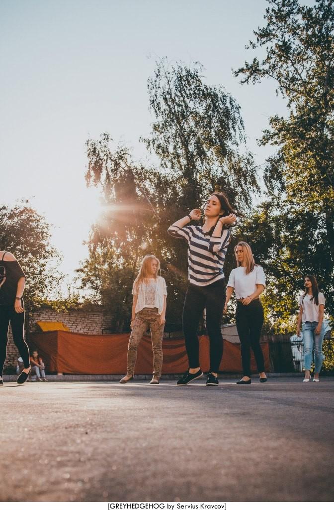 Танцы на свежем воздухе во Владимире 071