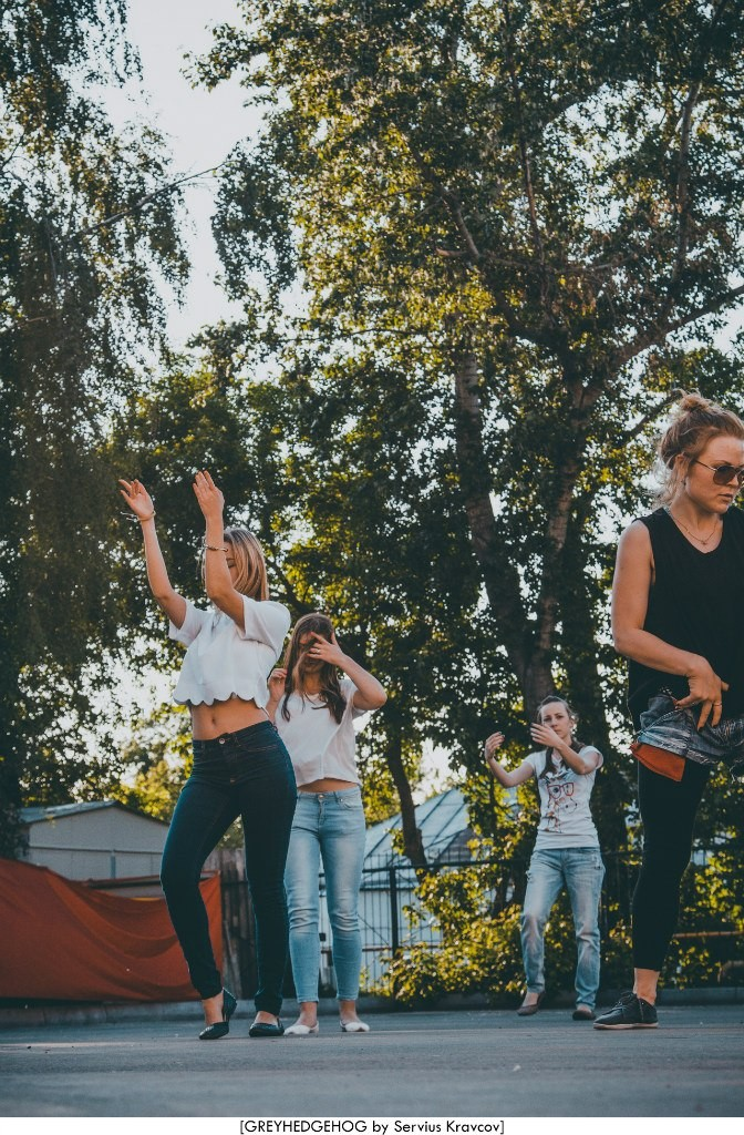 Танцы на свежем воздухе во Владимире 072
