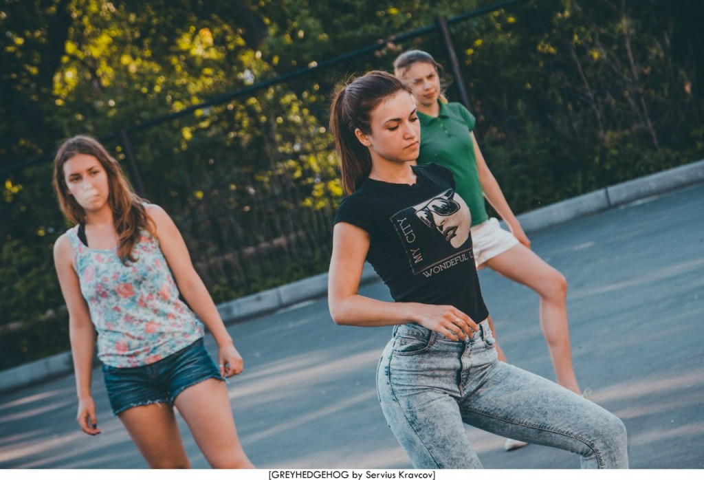 Танцы на свежем воздухе во Владимире 074