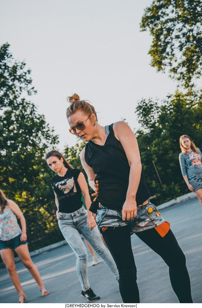 Танцы на свежем воздухе во Владимире 075