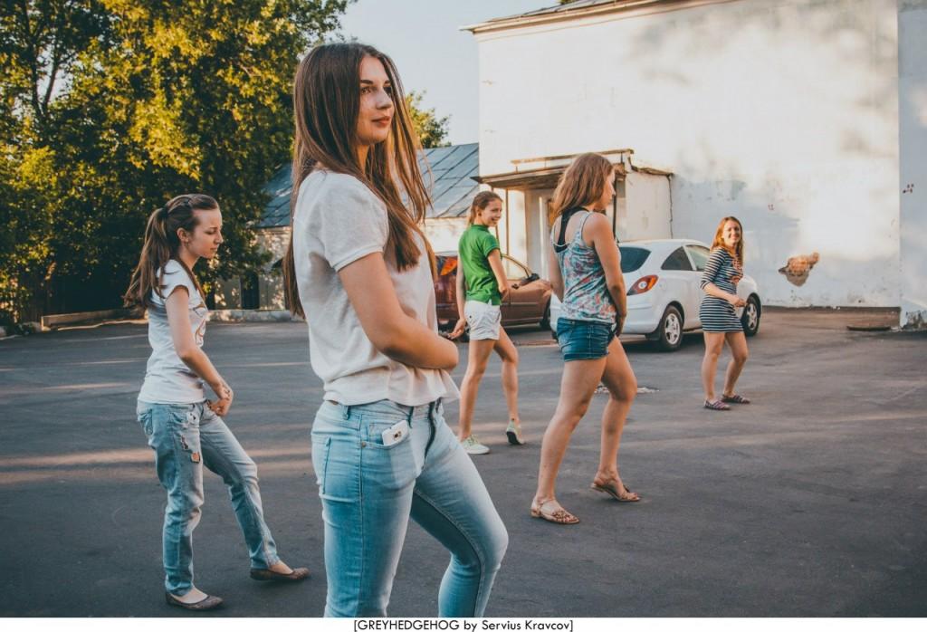 Танцы на свежем воздухе во Владимире 078