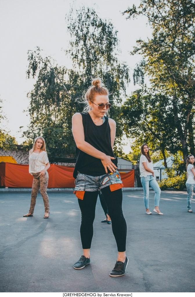 Танцы на свежем воздухе во Владимире 080