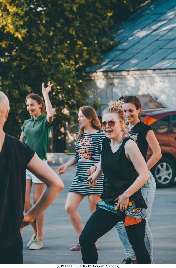 Танцы на свежем воздухе во Владимире 083