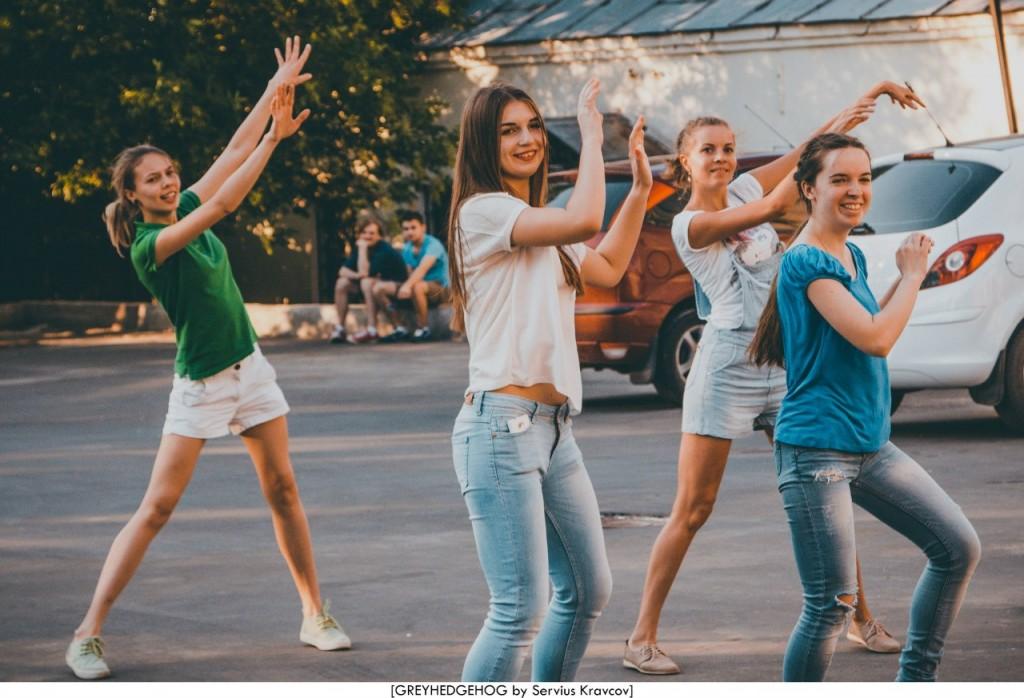 Танцы на свежем воздухе во Владимире 085