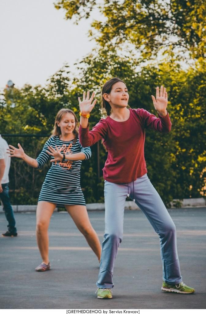 Танцы на свежем воздухе во Владимире 087