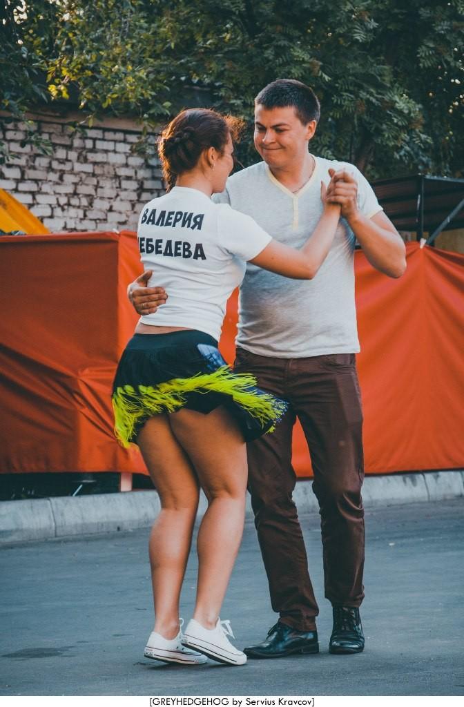 Танцы на свежем воздухе во Владимире 089