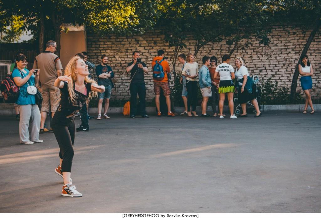 Танцы на свежем воздухе во Владимире 091