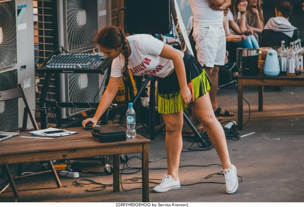 Танцы на свежем воздухе во Владимире 102
