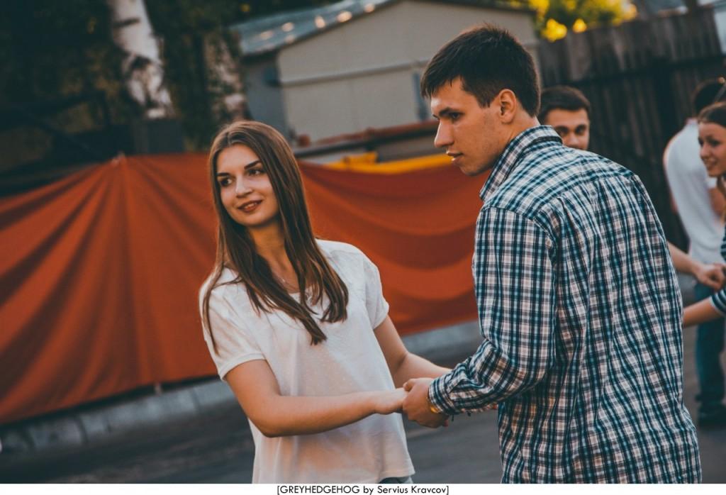 Танцы на свежем воздухе во Владимире 109