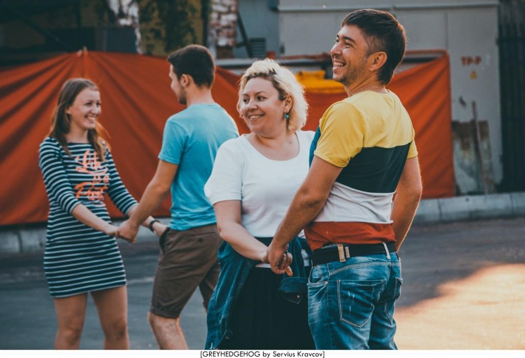 Танцы на свежем воздухе во Владимире 119