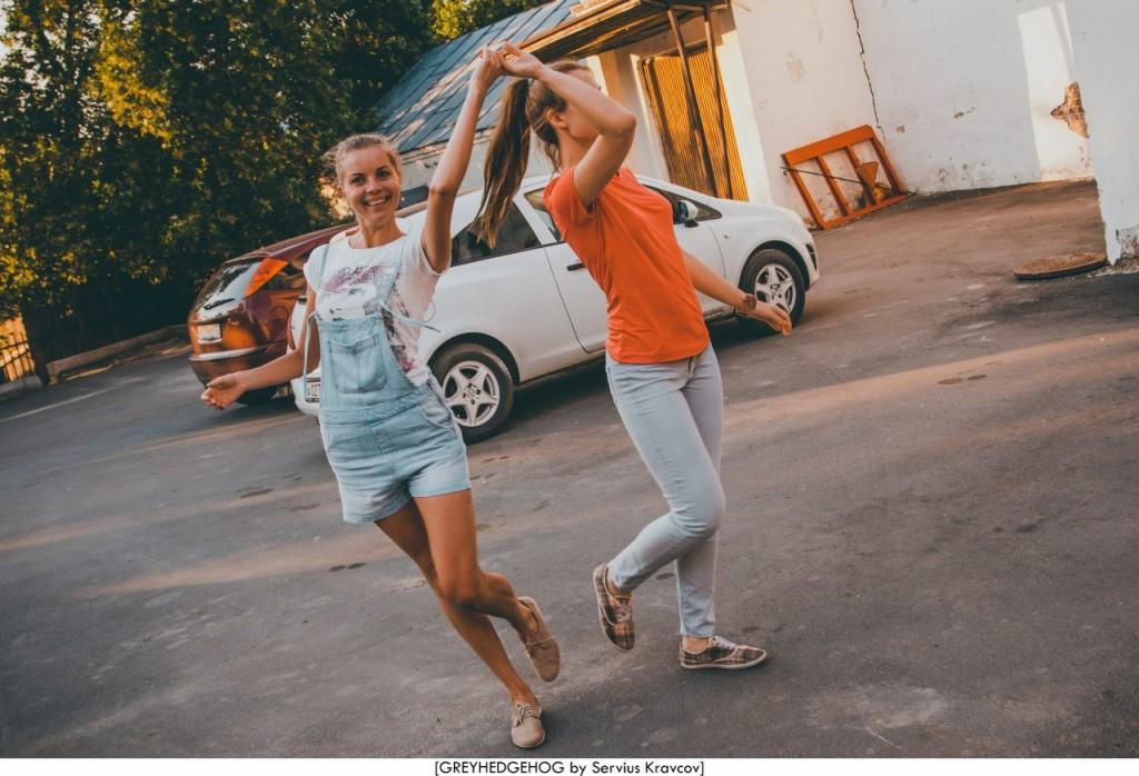 Танцы на свежем воздухе во Владимире 120