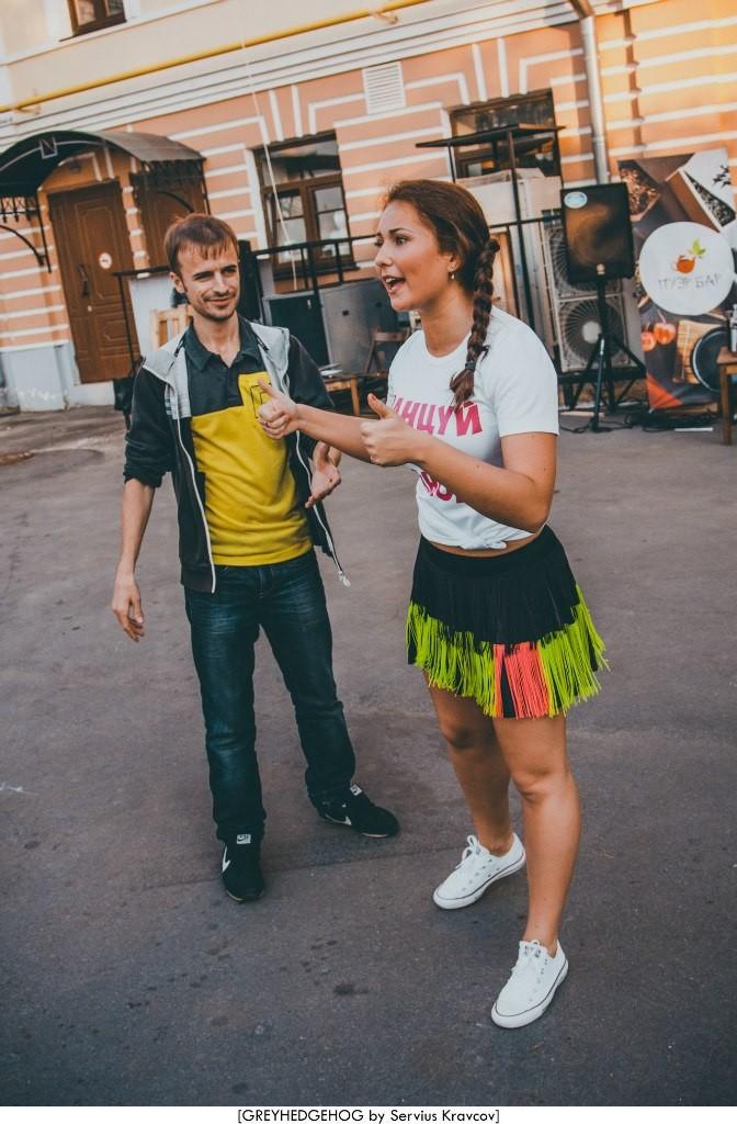 Танцы на свежем воздухе во Владимире 125