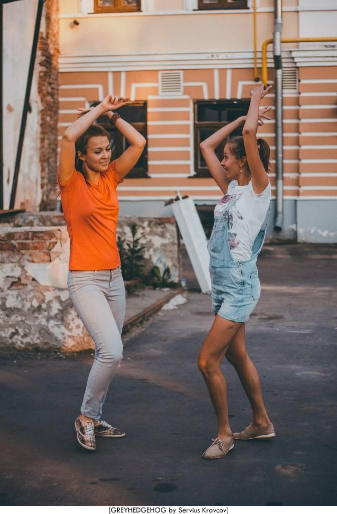 Танцы на свежем воздухе во Владимире 135