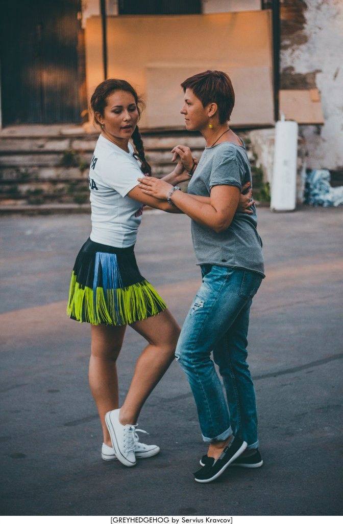 Танцы на свежем воздухе во Владимире 138