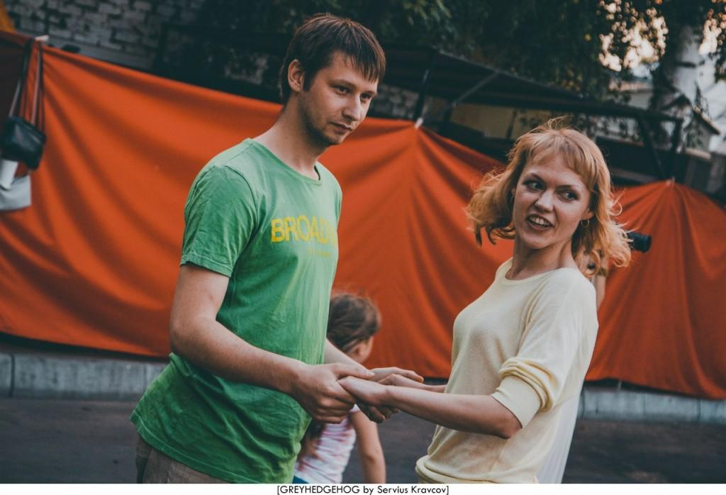 Танцы на свежем воздухе во Владимире 160