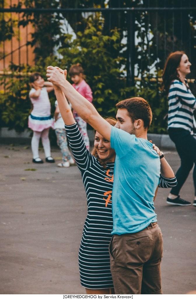 Танцы на свежем воздухе во Владимире 163