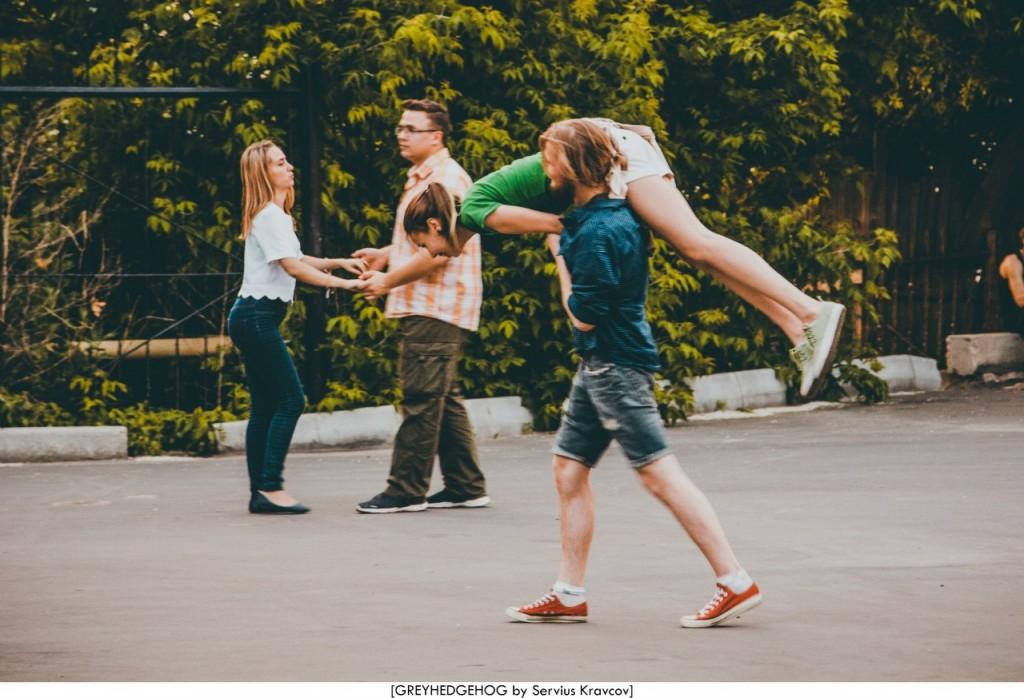 Танцы на свежем воздухе во Владимире 167
