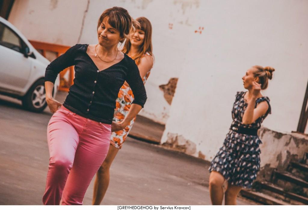 Танцы на свежем воздухе во Владимире 168