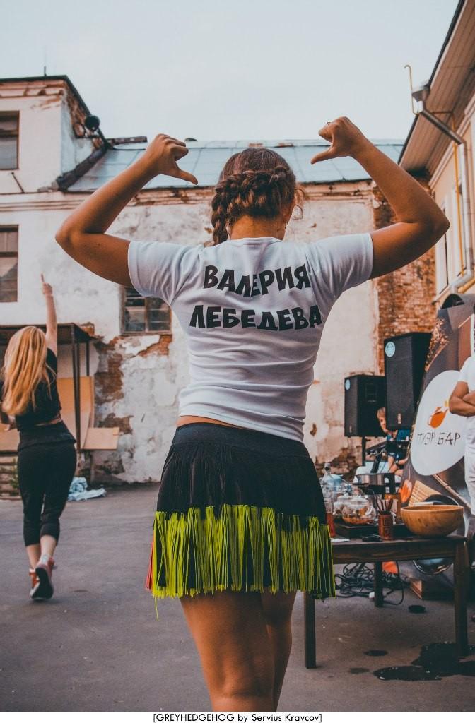 Танцы на свежем воздухе во Владимире 171