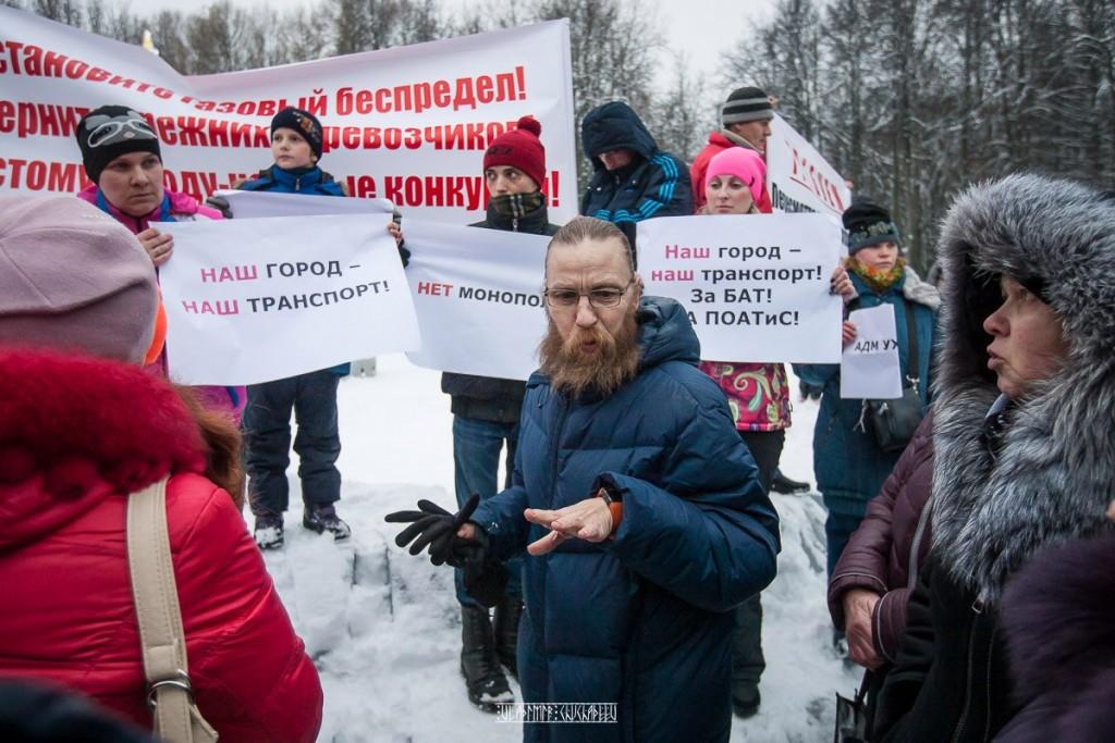 Транспортный пикет во Владимире 04