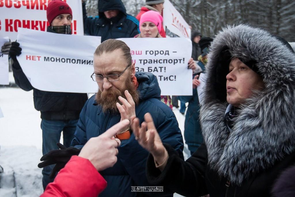 Транспортный пикет во Владимире 05