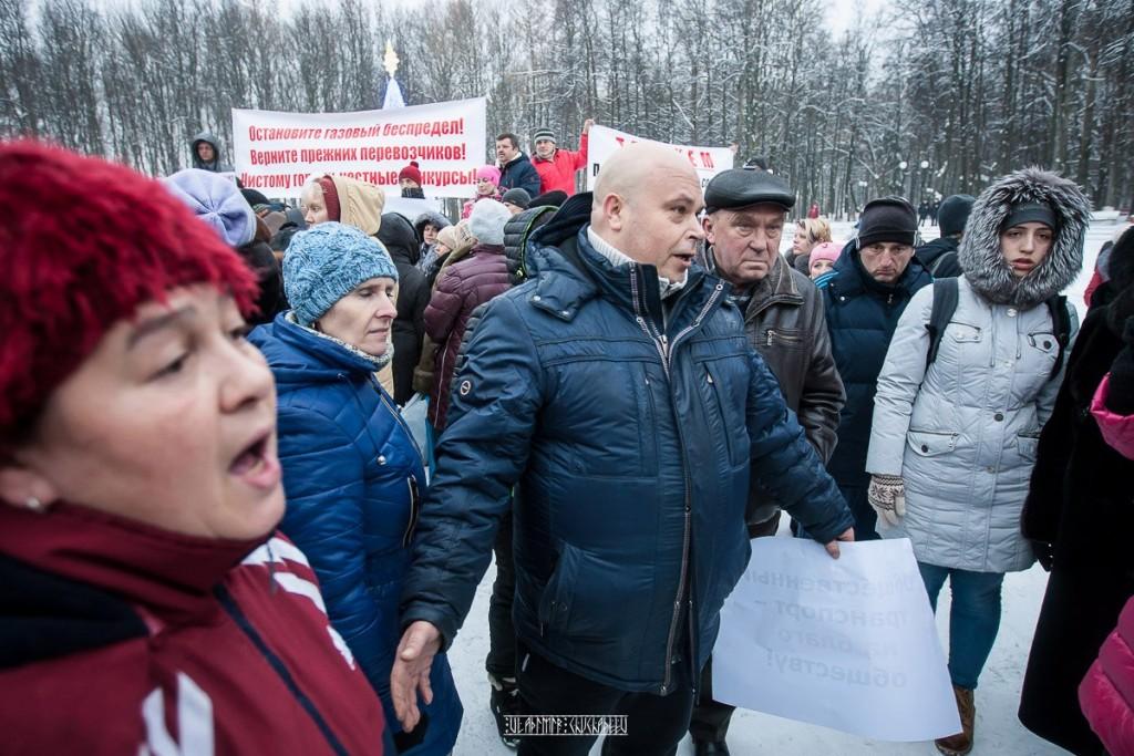 Транспортный пикет во Владимире 06