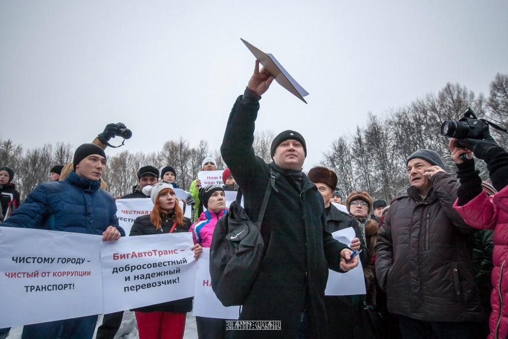 Транспортный пикет во Владимире 10