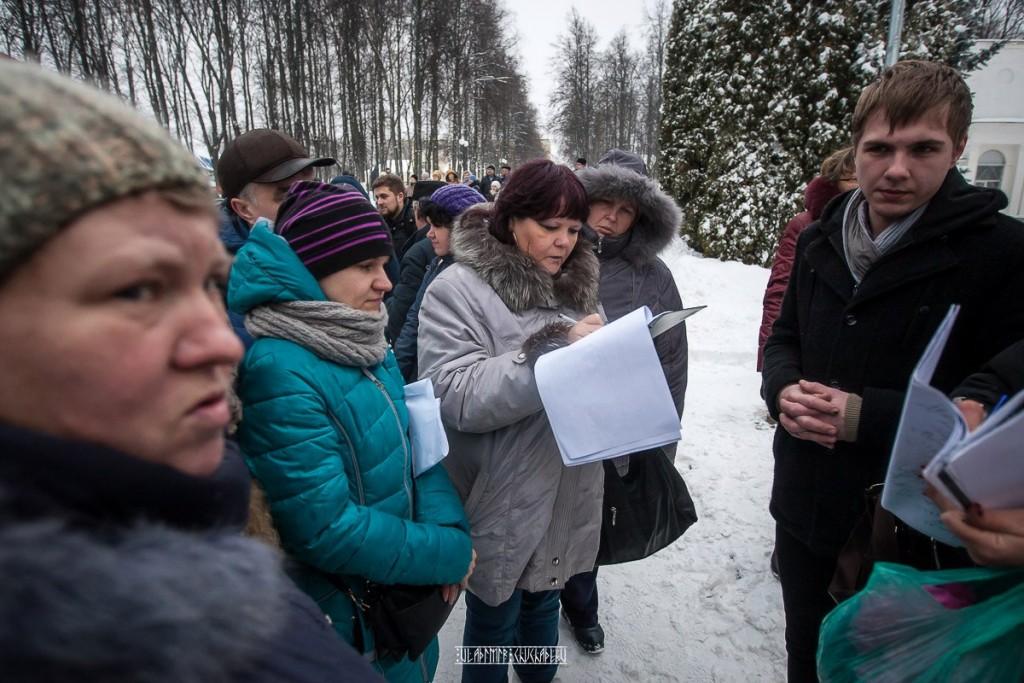 Транспортный пикет во Владимире 12