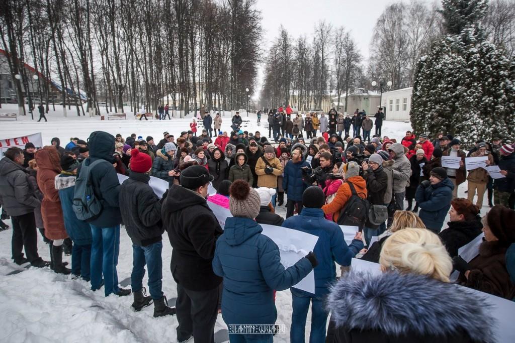 Транспортный пикет во Владимире 19