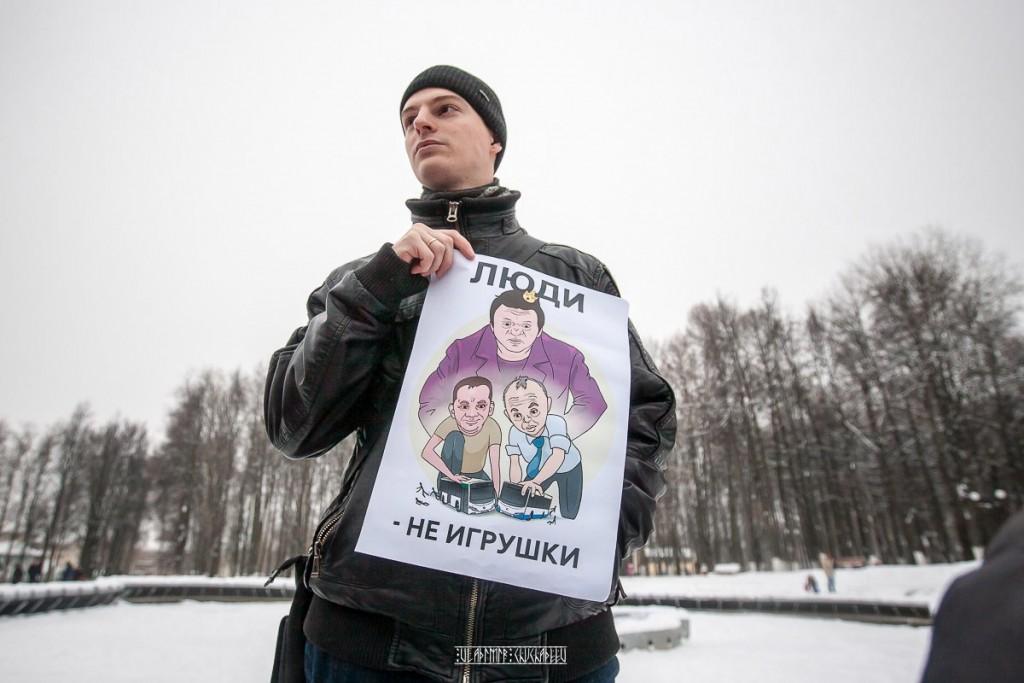 Транспортный пикет во Владимире 23