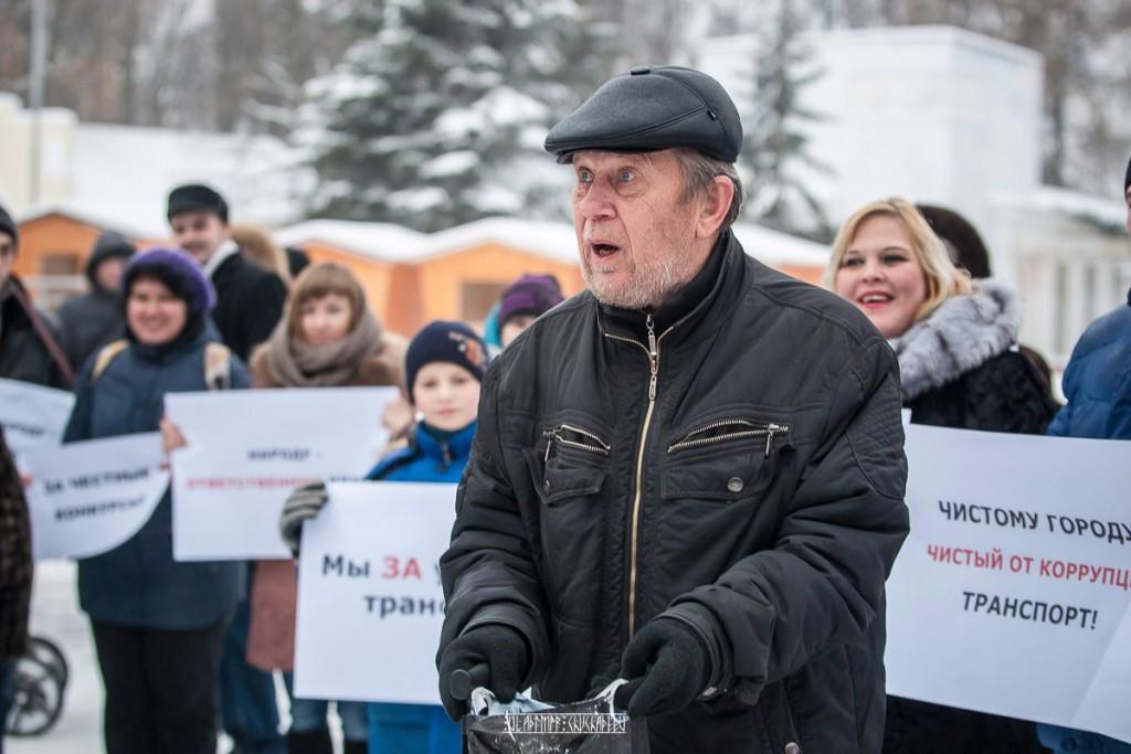 Транспортный пикет во Владимире 27