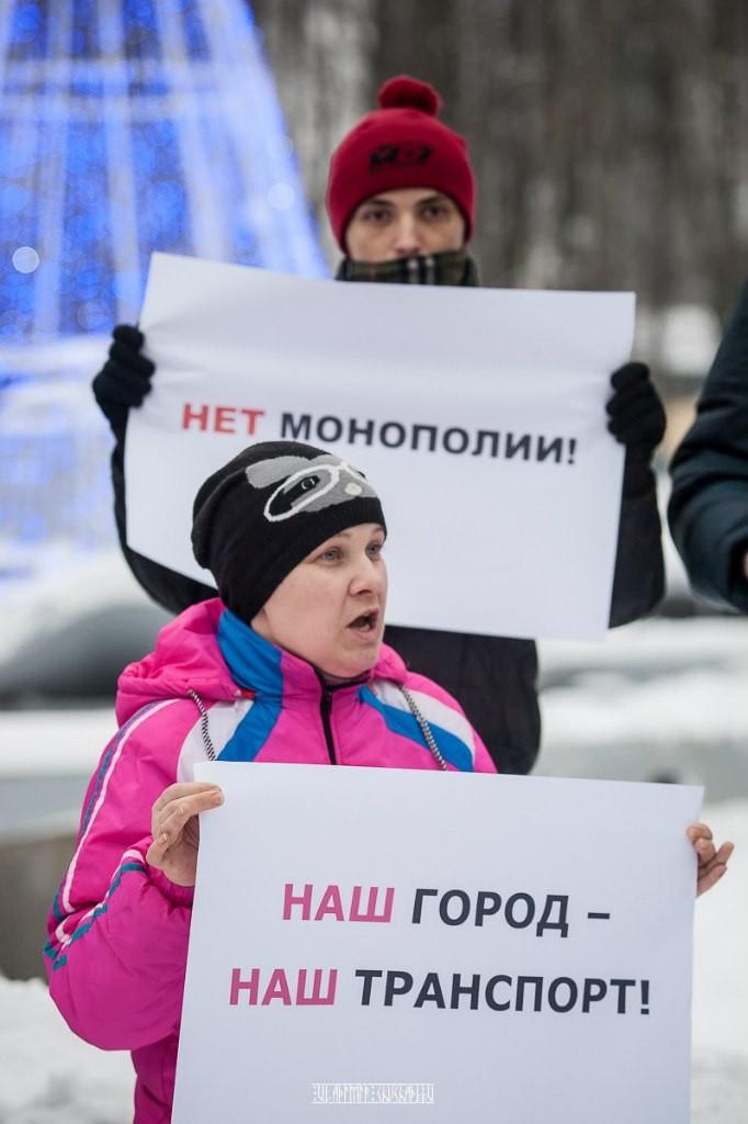 Транспортный пикет во Владимире 28