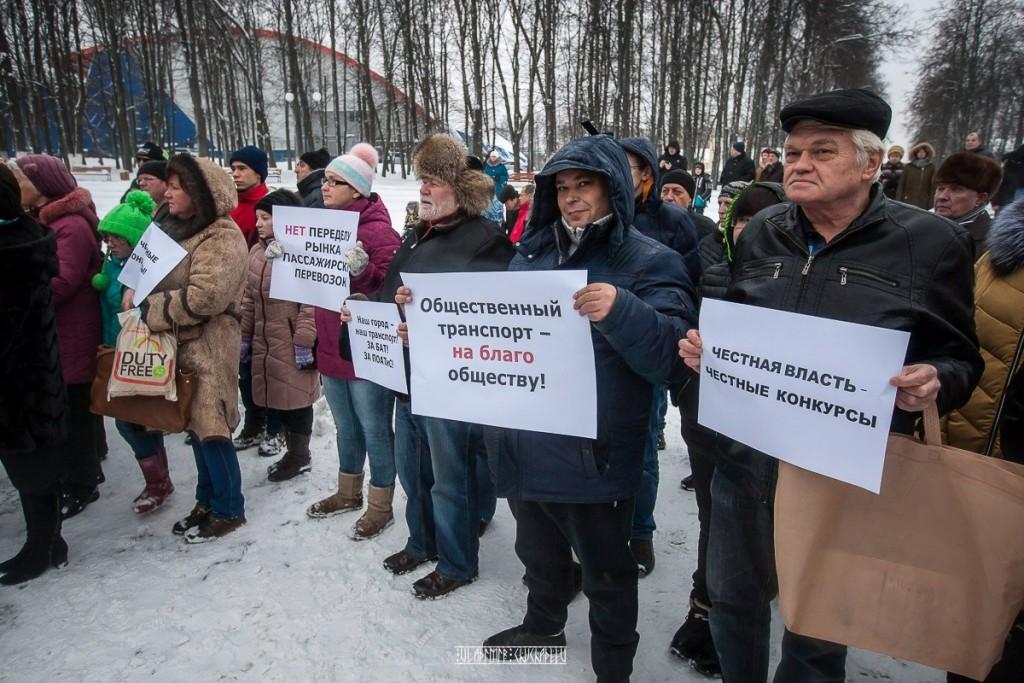 Транспортный пикет во Владимире 31