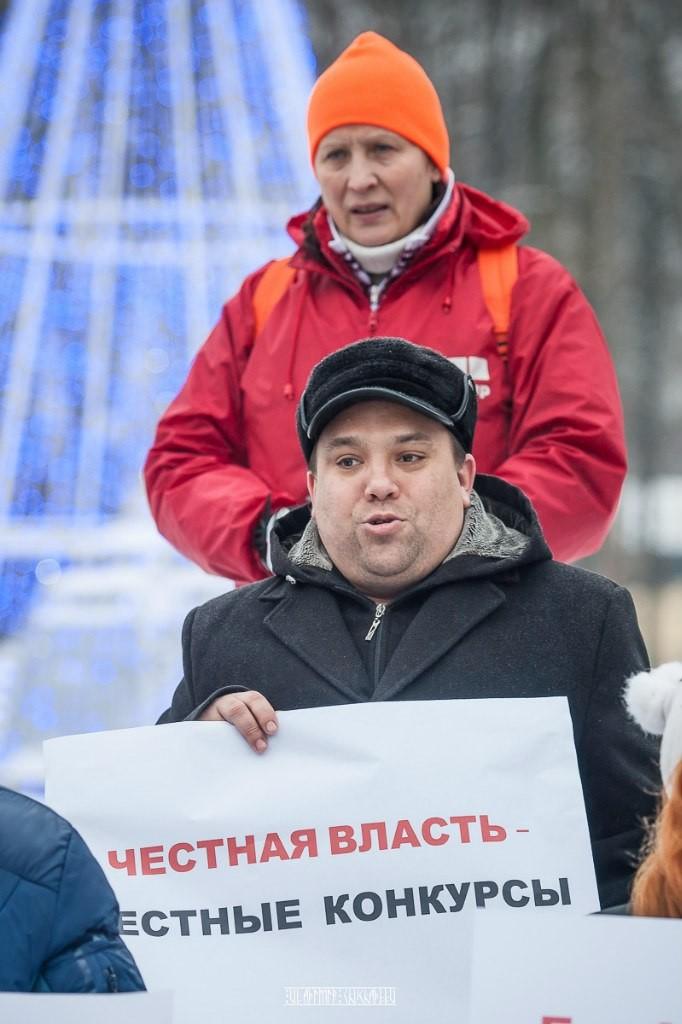 Транспортный пикет во Владимире 32