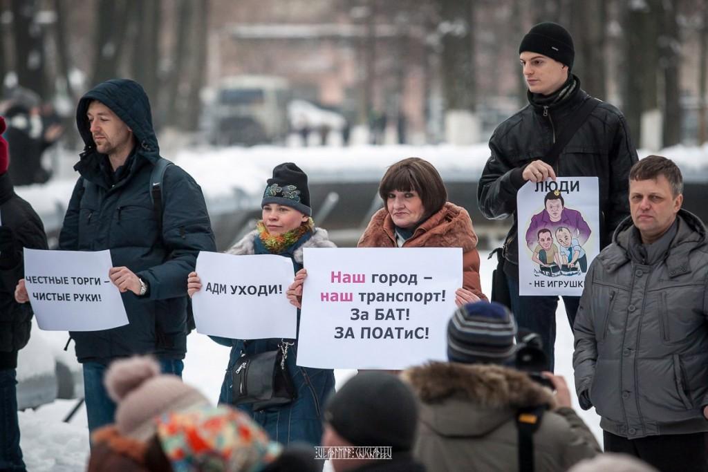 Транспортный пикет во Владимире 33