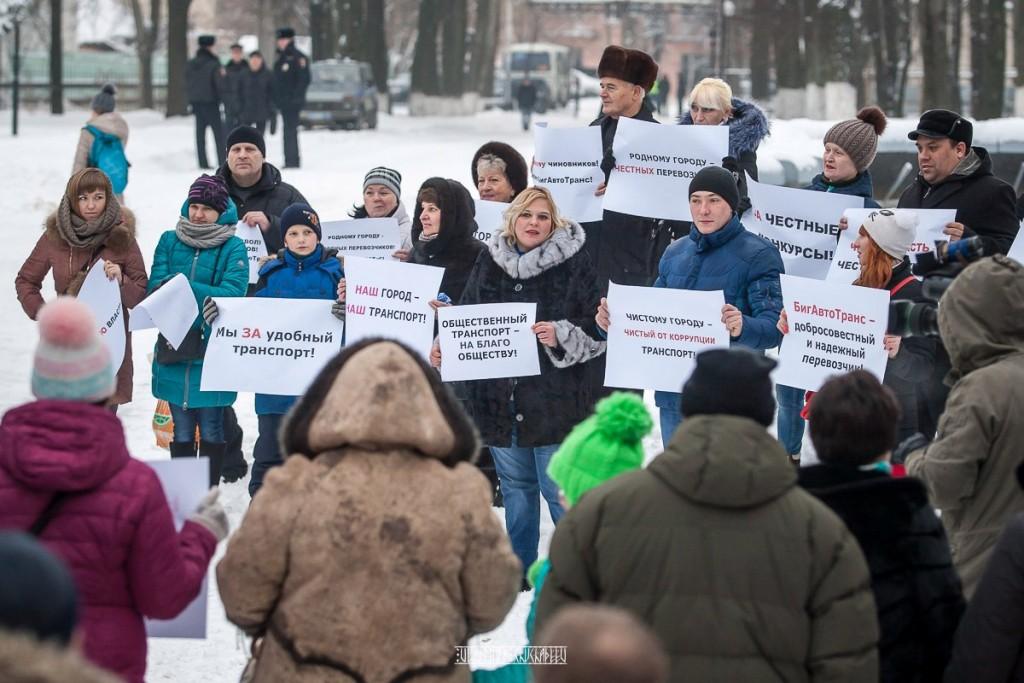 Транспортный пикет во Владимире 34