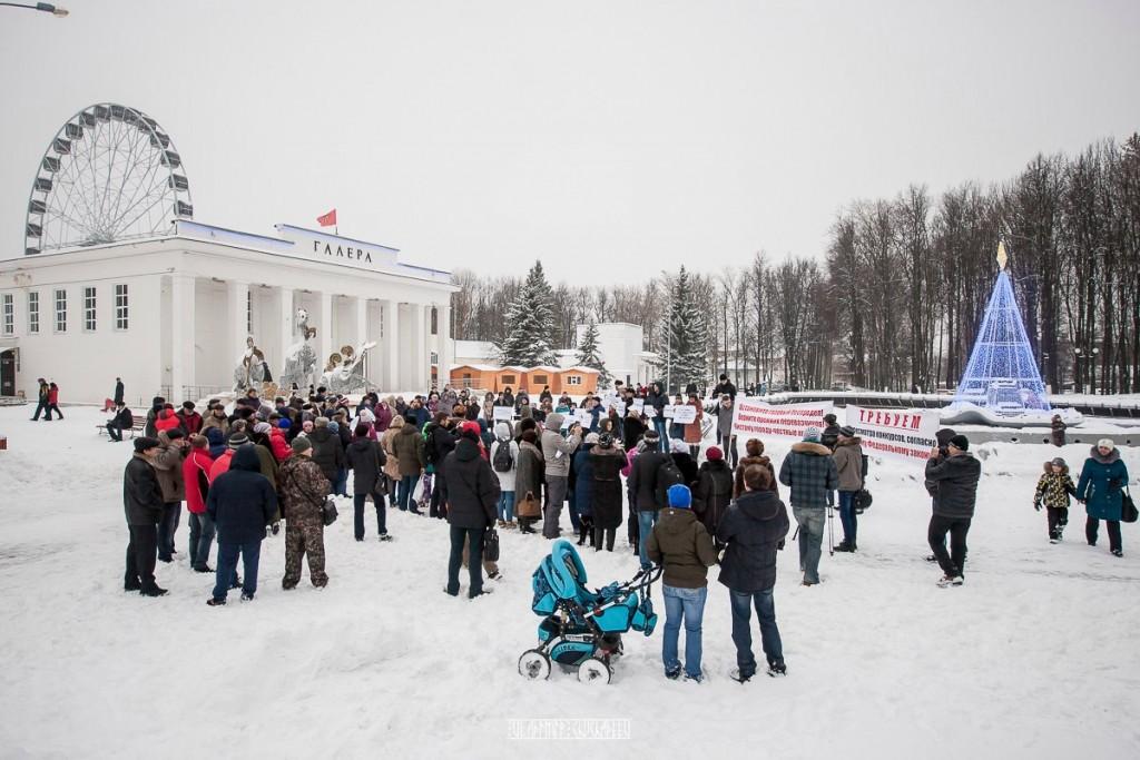 Транспортный пикет во Владимире 36