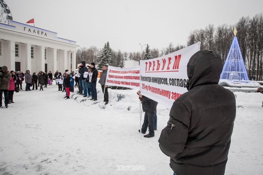 Транспортный пикет во Владимире 37