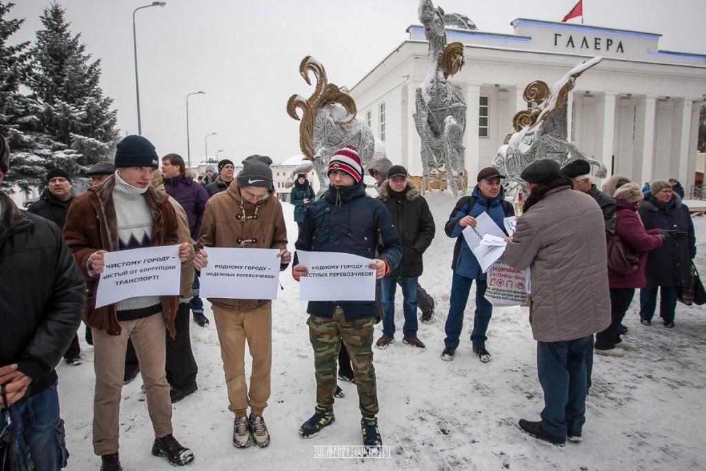 Транспортный пикет во Владимире 38