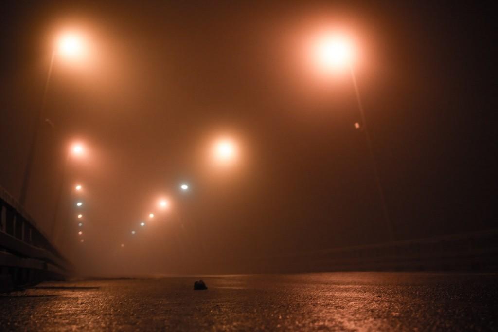 Туман в Муроме в ночь с 24 на 25 октября 01