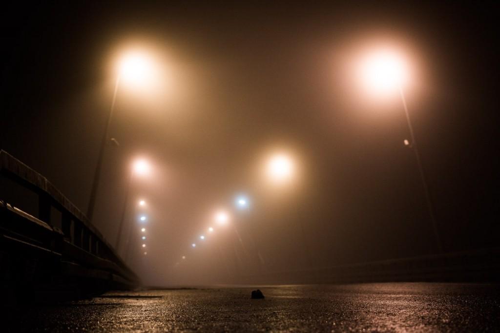 Туман в Муроме в ночь с 24 на 25 октября 02