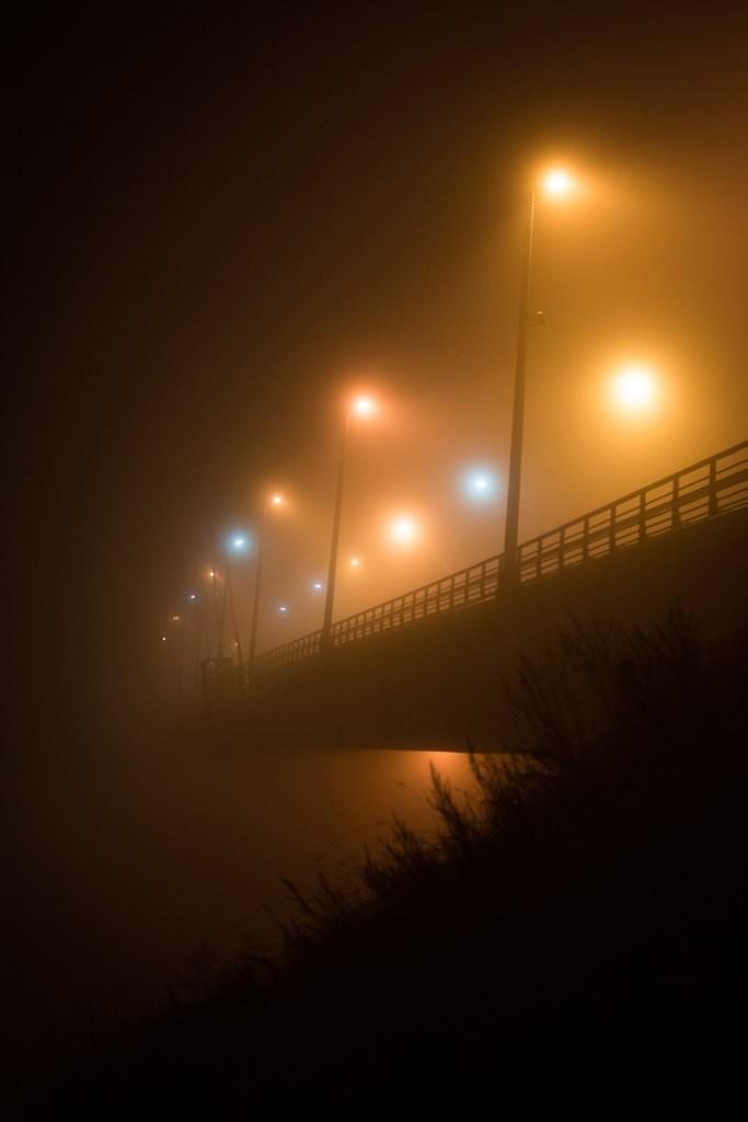 Туман в Муроме в ночь с 24 на 25 октября 07